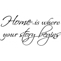 C0142 Home is where your story begins