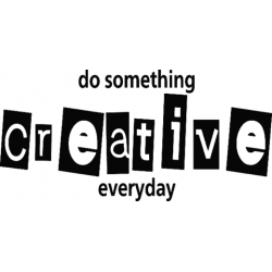 C0265 Do something creative everyday